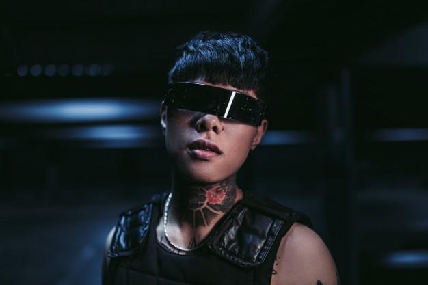 Gafas Cyberpunk